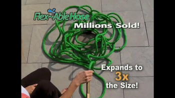 FlexAble Hose TV Spot - 15 commercial airings