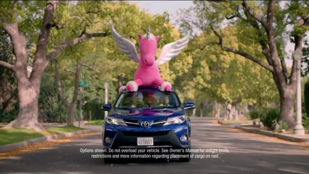 Subaru Forester Commercial Song >> Toyota RAV4 TV Commercial, 'Lady the Unicorn' - iSpot.tv