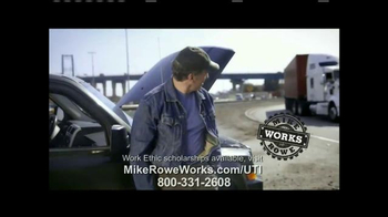 UTI TV Spot, 'Mike Rowe Works Scholarships' Featuring Mike Rowe - Thumbnail 10
