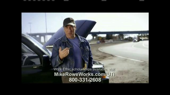 UTI TV Spot, 'Mike Rowe Works Scholarships' Featuring Mike Rowe - Thumbnail 6
