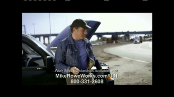 UTI TV Spot, 'Mike Rowe Works Scholarships' Featuring Mike Rowe - Thumbnail 7