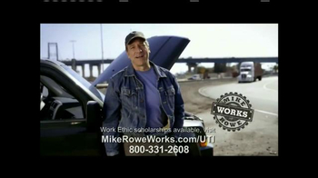UTI TV Spot, 'Mike Rowe Works Scholarships' Featuring Mike Rowe
