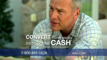 American Advisors Group Reverse Mortgage TV Spot, 'Mom and Dad' - Thumbnail 4