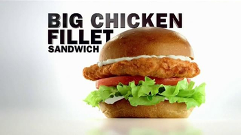 Carl's Jr. Big Chicken Fillet Sandwich TV Spot, 'Everybody Wants Some' - Thumbnail 10