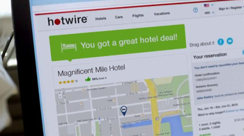 Hotwire TV Spot, 'How It Feels to Hotwire' - Thumbnail 6