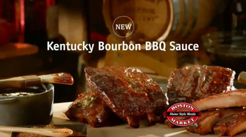 Boston Market Kentucky Bourbon BBQ Sauce TV Spot - Thumbnail 1