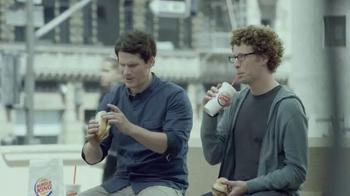 Burger King Extra Long BBQ Cheeseburger TV Spot, '2 for $5: Real Buddies' - Thumbnail 1