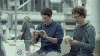 Burger King Extra Long BBQ Cheeseburger TV Spot, '2 for $5: Real Buddies' - Thumbnail 2