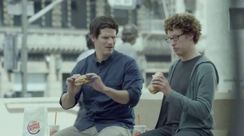 Burger King Extra Long BBQ Cheeseburger TV Spot, '2 for $5: Real Buddies'