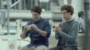 Burger King Extra Long BBQ Cheeseburger TV Spot, '2 for $5: Real Buddies' - Thumbnail 4
