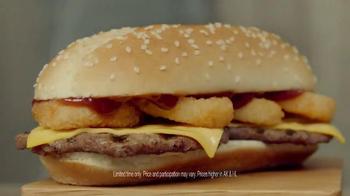 Burger King Extra Long BBQ Cheeseburger TV Spot, '2 for $5: Real Buddies' - Thumbnail 6