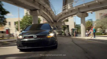 Volkswagen Golf GTI TV Spot, 'Play-By-Play' Featuring Andres Cantor - Thumbnail 1