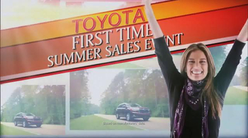Toyota First Time Summer Sales Event TV Spot, 'Venza & RAV4' - Thumbnail 4