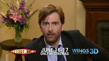 Fathom Events TV Spot 'Doctor Who' Featuring David Tennant - 27 commercial airings