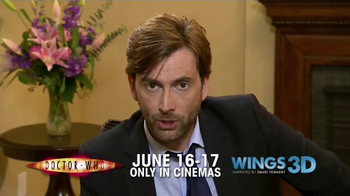Fathom Events TV Spot 'Doctor Who' Featuring David Tennant - Thumbnail 4