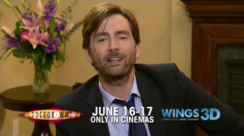 Fathom Events TV Spot 'Doctor Who' Featuring David Tennant - Thumbnail 5