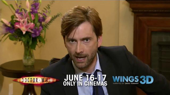 Fathom Events TV Spot 'Doctor Who' Featuring David Tennant - Thumbnail 6