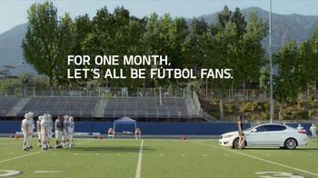 Kia TV Spot, 'Football vs. Futbol: FIFA World Cup' Featuring Adriana Lima - Thumbnail 7