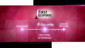 First Response TV Spot, 'Seis Días Antes' [Spanish] - Thumbnail 6