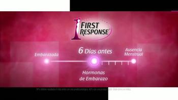 First Response TV Spot, 'Seis Días Antes' [Spanish] - Thumbnail 7