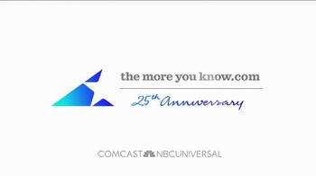 The More You Know TV Spot, '25 Years' - Thumbnail 10