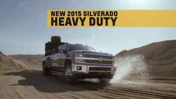 2015 Silverado Heavy Duty TV Spot, 'Best-in-Class Towing' - Thumbnail 4