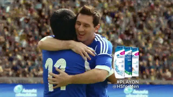 Head & Shoulders TV Spot, '#PlayOn' Featuring Lionel Messi - Thumbnail 10