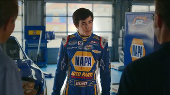 NAPA Auto Parts TV Spot, 'When I was 18' Featuring Dale Earnhardt, Jr. - Thumbnail 4