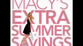 Macy's TV Spot, 'Extra Summer Savings' Song by One Umbrella - Thumbnail 1