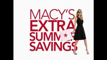 Macy's TV Spot, 'Extra Summer Savings' Song by One Umbrella - Thumbnail 2