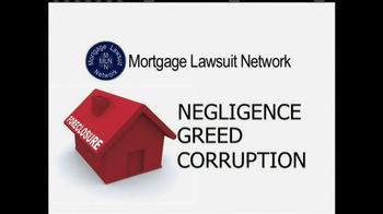 Mortgage Lawsuit Network TV Spot