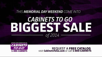 Cabinets To Go TV Spot, 'Memorial Day Sale' - Thumbnail 2