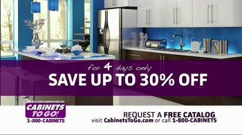 Cabinets To Go TV Spot, 'Memorial Day Sale' - Thumbnail 3
