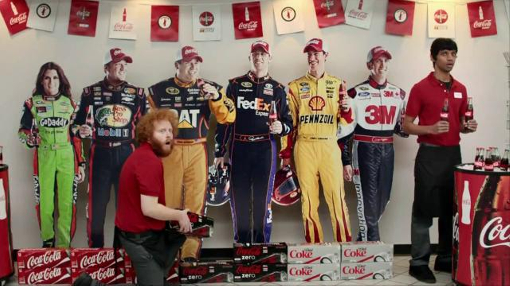 Coca-Cola TV Commercial, 'Racing Family Road Trip Pit Stop' Ft. Danika Patrick
