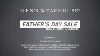 Men's Wearhouse Father's Day Sale TV Spot, 'Gifts for Dad' - Thumbnail 7