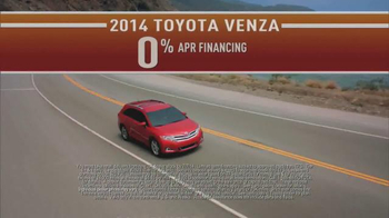 2014 Toyota Venza TV Spot, 'Did You Know: Northwest Lifestyle' - Thumbnail 6