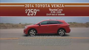 2014 Toyota Venza TV Spot, 'Did You Know: Northwest Lifestyle' - Thumbnail 7