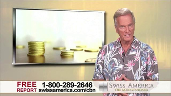 Swiss America TV Spot, 'Bank Safety' Featuring Pat Boone