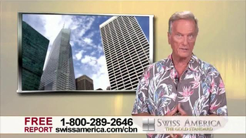 Swiss America TV Spot, 'Bank Safety' Featuring Pat Boone - Thumbnail 4