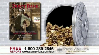 Swiss America TV Spot, 'Bank Safety' Featuring Pat Boone - Thumbnail 6