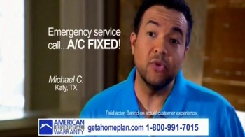 American Residential Warranty TV Spot - Thumbnail 6