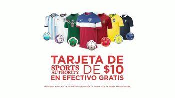 Sports Authority TV Spot, 'Equipo Del Mundial' [Spanish]