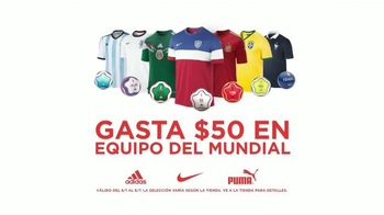 Sports Authority TV Spot, 'Equipo Del Mundial' [Spanish] - Thumbnail 5