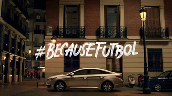 Hyundai TV Spot, 'Because Futbol: Boom' - Thumbnail 6