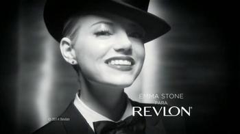 Revlon Bold Lacquer TV Spot Con Emma Stone [Spanish]