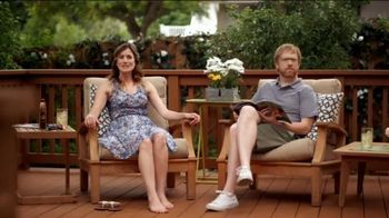 Olympic RESCUE IT! Wood & Concrete Resurfacer TV Spot, 'Confused Husband'