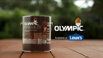 Olympic RESCUE IT! Wood & Concrete Resurfacer TV Spot, 'Confused Husband' - Thumbnail 5