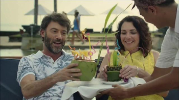 Booking.com TV Spot, 'Booking Tropical Beverages' - 1169 commercial airings