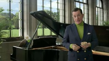 Wonderful Pistachios TV Spot, 'Stephen Colbert Pitches the National Nut' - 244 commercial airings