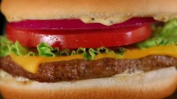 Wendy's Steakhouse Jr. Cheeseburger Deluxe TV Spot, 'Date Night' - Thumbnail 7